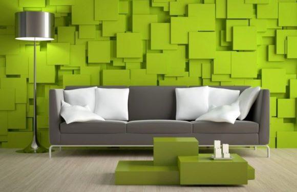 Объемные 3Д панели для стен