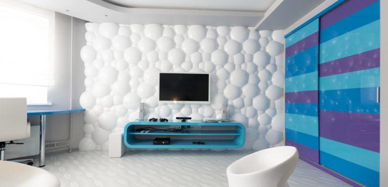 Современный 3Д декоративный материал для стен