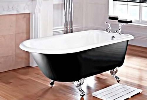 Преимущества чугунных ванн